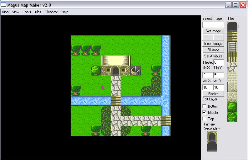Magus Map Maker - 2D Multilayer Map