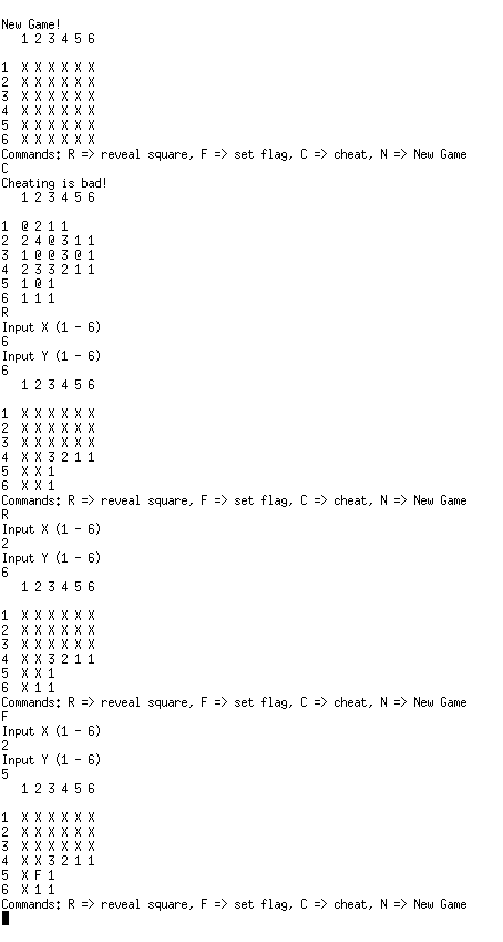 Minesweeper - C